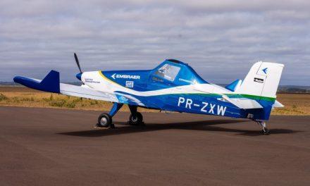 Embraer divulga fotos de protótipo do 1º avião elétrico
