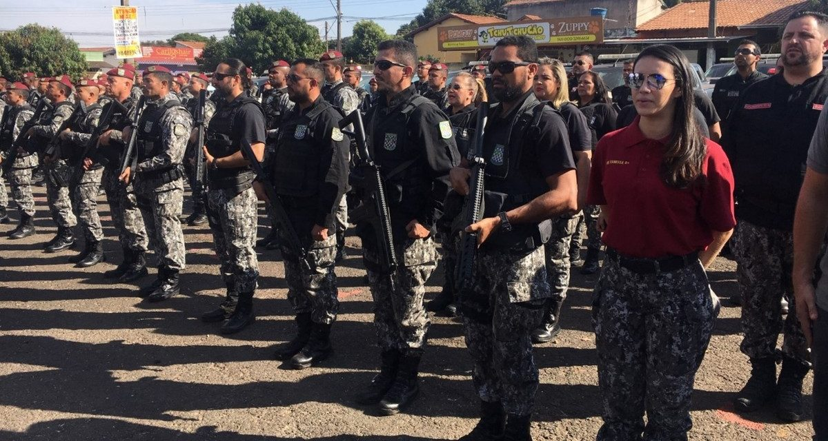 Força Nacional começa a atuar em Goiânia, única capital a receber projeto federal de combate à violência
