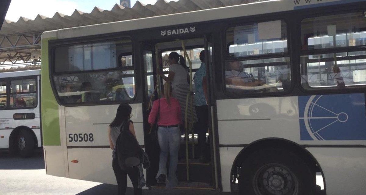 Campanha contra assédio sexual nos ônibus é lançada em Aparecida de Goiânia