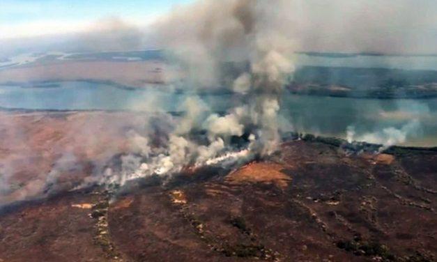 Incêndios atingem mais de 6 mil hectares na Chapada dos Guimarães