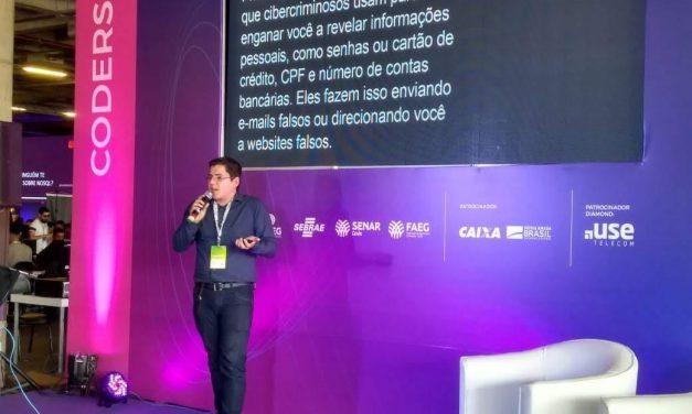 Ex-aluno da Faculdade Senac ministra palestras na Campus Party Goiânia