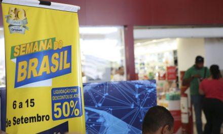 Vendas aumentam 12% em quatro dias na Semana do Brasil