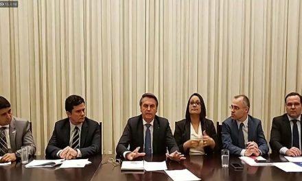 Em live, Bolsonaro defende escolha de Aras para a PGR