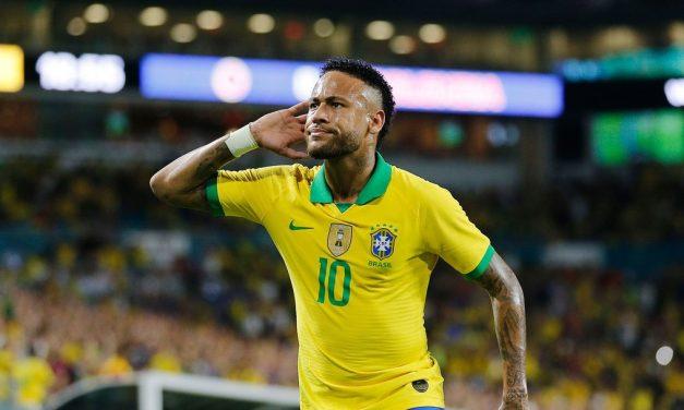 Neymar marca ao voltar a jogar pela Seleção, e Brasil empata com a Colômbia