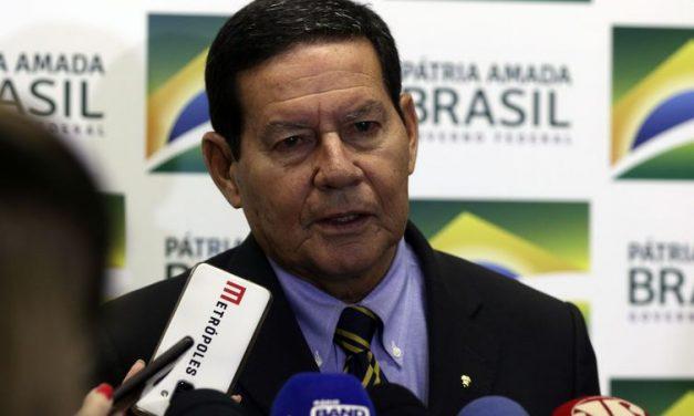 A empresários alemães, Mourão reafirma compromisso com Amazônia
