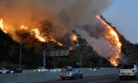 Incêndios florestais avançam na Califórnia e aulas são suspensas