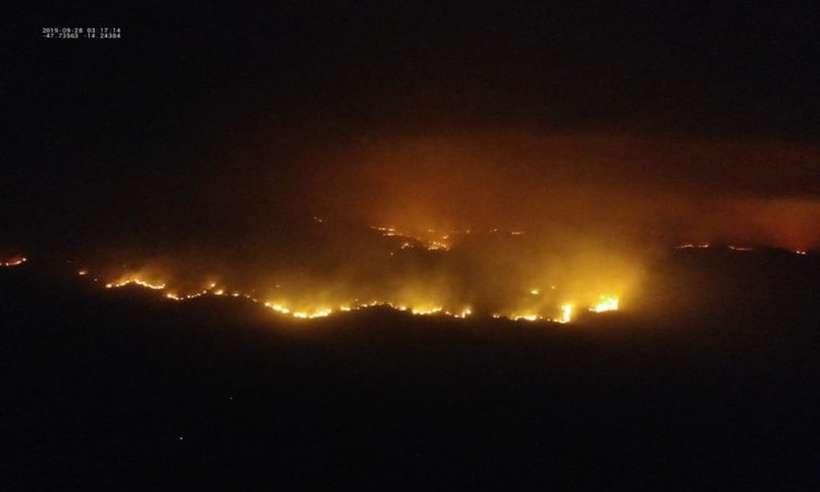Polícia Civil de Goiás investigará incêndio na Chapada dos Veadeiros