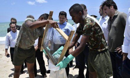 Alcolumbre anuncia MP que libera recursos a cidades atingidas por óleo