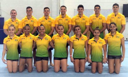 Seleções brasileiras de ginástica disputam Mundial na Alemanha