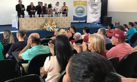 Sesc Saúde Visão entrega 114 óculos no município de Rialma