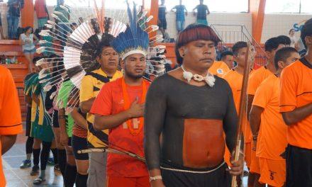 Jogos Indígenas reúnem mais de 200 atletas no Sesc Universitário