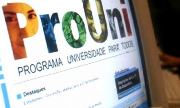 Inscrições para o Prouni começam dia 28 de janeiro