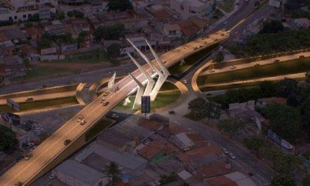 Justiça nega paralisação da obra do viaduto entre avenida Jamel Cecílio e Marginal Botafogo