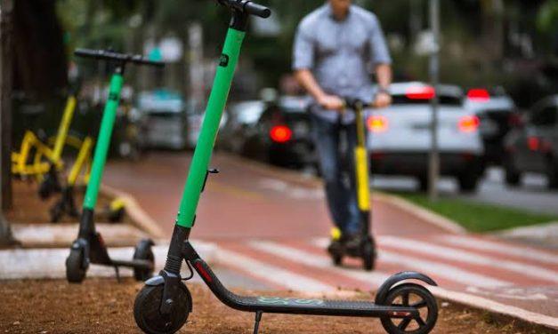 Yellow e Grin suspendem patinetes e bicicletas em Goiânia