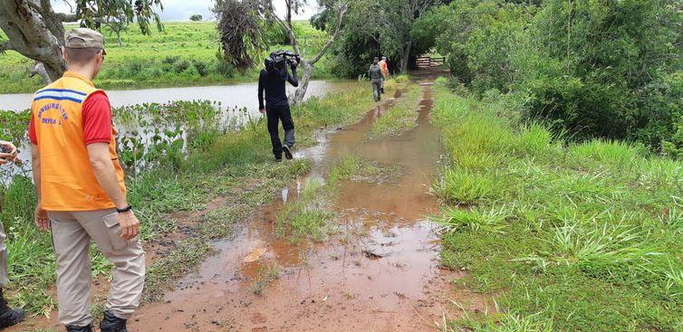 Chuva pode ter sido causa de rompimento de barragem em Pontalina