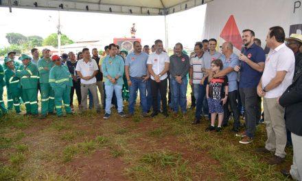 Mutirão leva serviços de infraestrutura na região da Vila Maria, em Aparecida de Goiânia