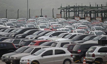 Vendas de veículos caem 1,61% em janeiro