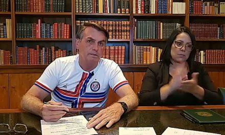 Bolsonaro pede serenidade e afirma que respeita os Poderes