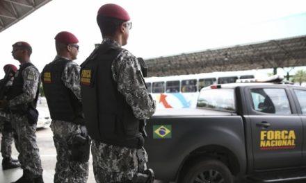 Ministério da Justiça prorroga presença da Força Nacional em Goiás