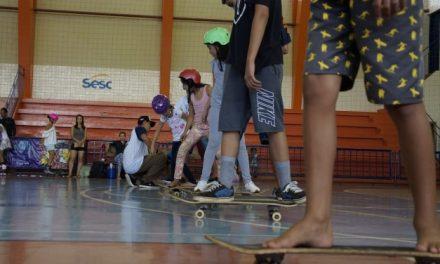 Sesc Universitário sedia mais uma edição do Skate Park, neste domingo