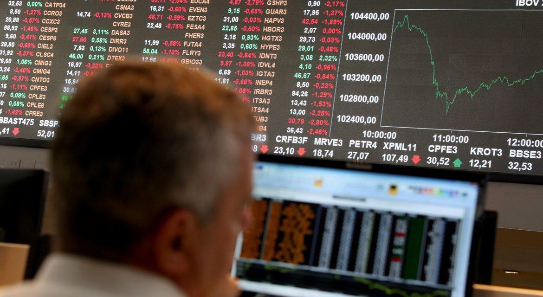 Bolsa cai 5,22% em mais um dia de nervosismo no mercado