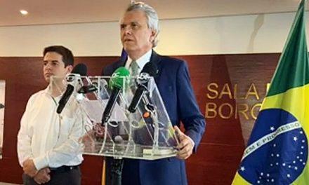 Caiado anuncia rompimento com Bolsonaro, após pronunciamento do presidente
