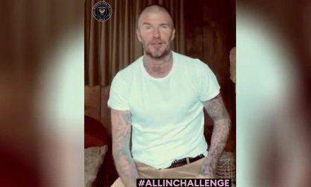 David Beckham faz campanha em favor de atingidos pelo coronavírus