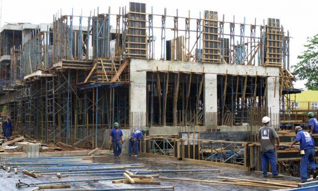 Construção civil registrou 50% de ociosidade em abril