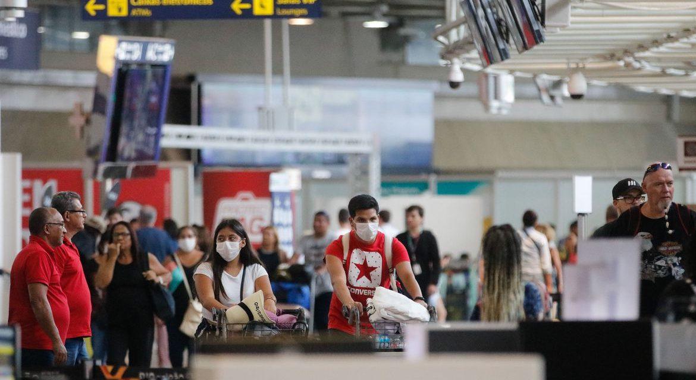 Anvisa quer reforçar medidas contra covid-19 em aeroportos e aeronaves