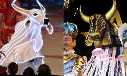 Caprichoso e Garantido desfilam no Festival de Parintins neste sábado
