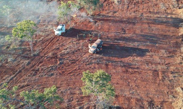 Prefeito de Cavalcante é autuado por desmatar área nativa do Cerrado