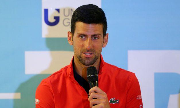 Após promover torneio, Djokovic testa positivo para covid-19