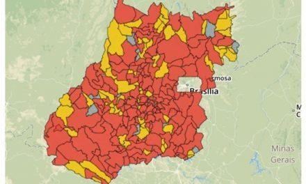 Apenas 10 cidades goianas ainda não têm casos suspeitos da Covid-19