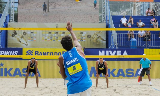 Covid-19: Federação cancela quatro etapas do Mundial de vôlei de praia