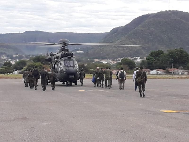 Aeródromo de Goiás serve como base para ajudar indígenas durante a pandemia