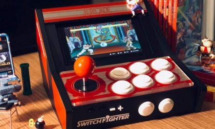 Acessório transforma o Switch em um arcade