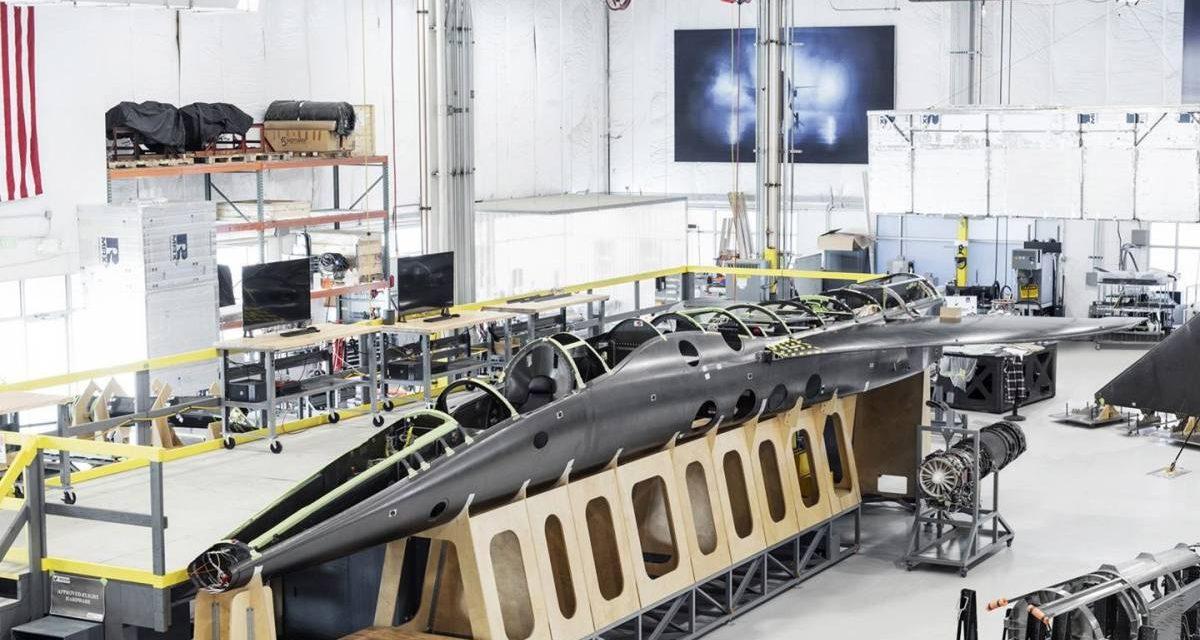 Empresa anuncia protótipo de seu avião supersônico de passageiros