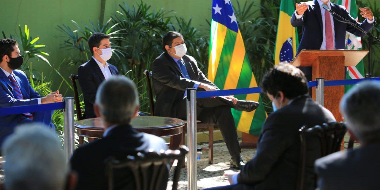 """Covid-19: """"Temos que mostrar nossa solidariedade"""", diz Caiado"""
