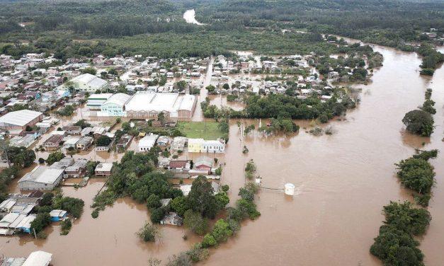 Defesa Civil mantém alerta para risco de inundações no sul do país