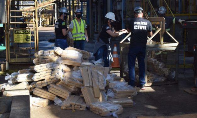 Jataí: Polícia incinera 2 toneladas de drogas