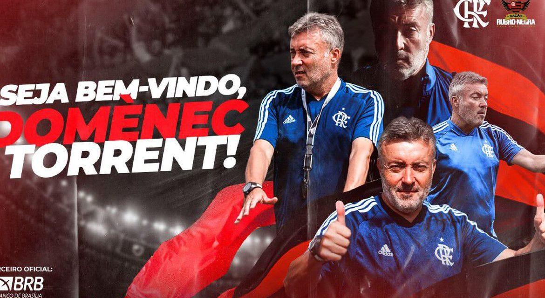 Domènec Torrent é o novo técnico do Flamengo