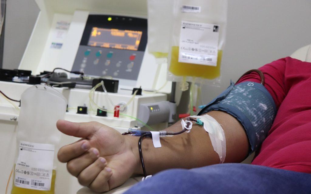 Hemocentro usará plasma para tratar pacientes com Covid-19