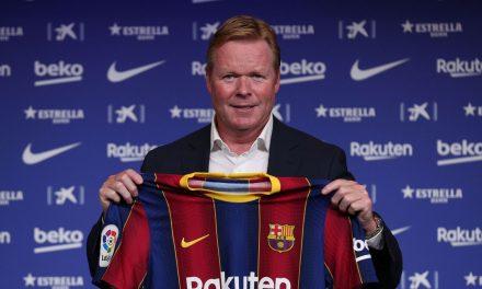 Koeman chega ao Barça expressando desejo de treinar Messi
