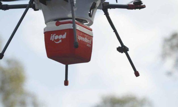 iFood recebe autorização para operação com drones no Brasil