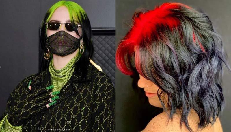 Raiz dos cabelos coloridas vira tendência: 30 Fotos Inspiração