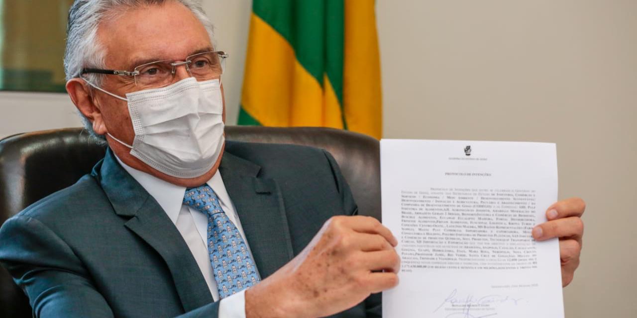 Governo do Estado anuncia que 24 empresas vão se instalar em Goiás