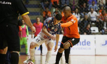 Liga Nacional de Futsal começa neste sábado, com etapa regionalizada