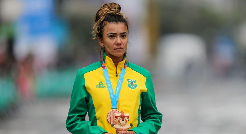 Érica Sena supera dificuldades e segue treinos no Equador