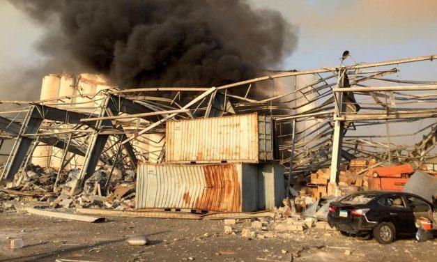 Grande explosão em Beirute deixa ao menos 10 mortos