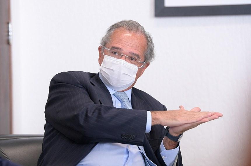 Comissão mista da covid-19 ouve ministro Paulo Guedes nesta terça-feira